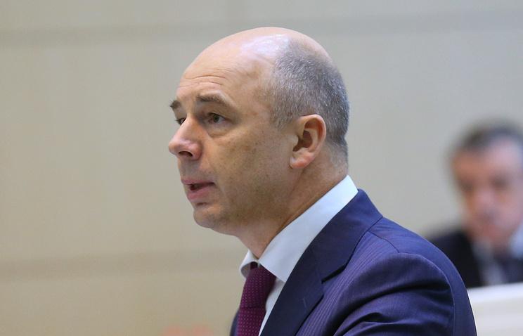 Russian Finance Minister Anton Siluanov