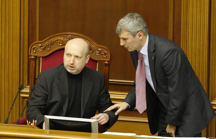 Oleksandr Turchinov (Left)