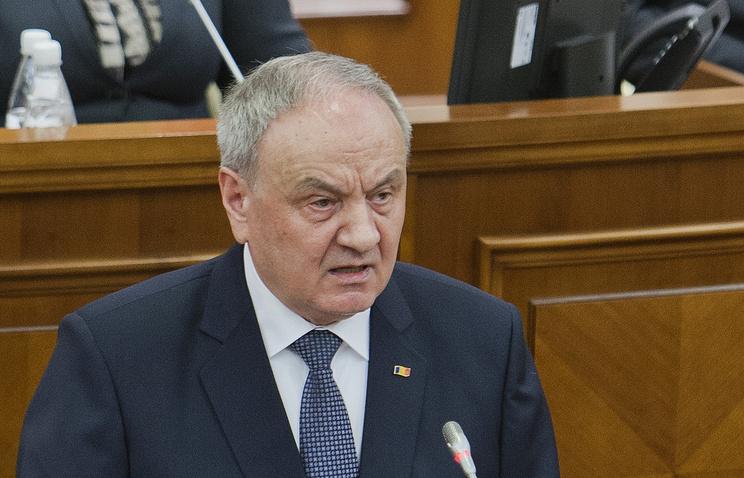 President of Moldova Nikolae Timofti