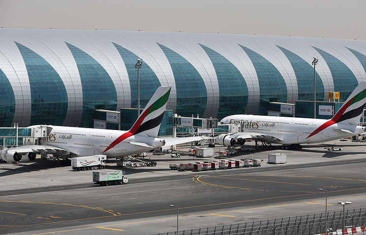 A view of Dubai airport (archive)