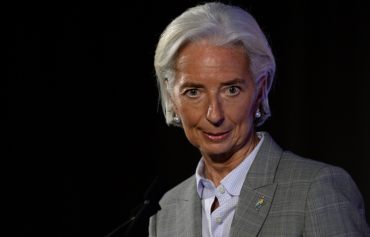 Managing Director of the International Monetary Fund (IMF) Christine Lagarde