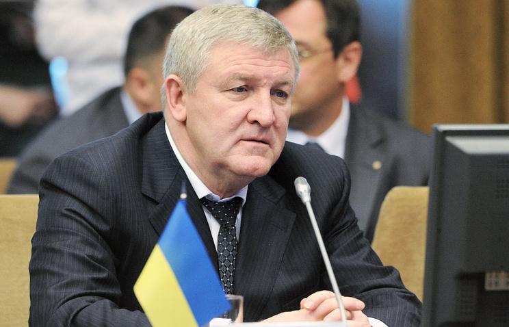 Ukrainian Ambassador to Belarus Mykhailo Yezhel