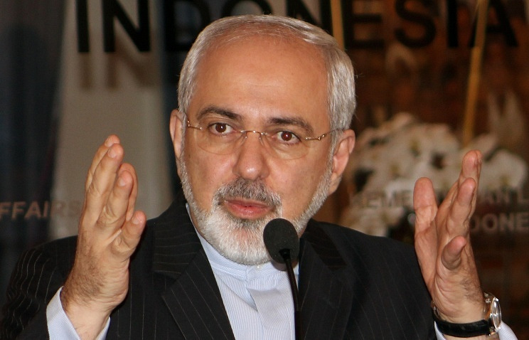 Head of Iranian Foreign Ministry Mohammad Javad Zarif