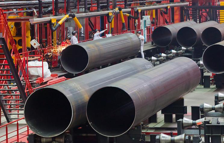 Chelyabinsk pipe rolling plant (archive)