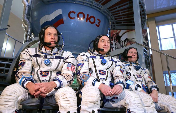 Steve Swanson, Alexander Skvortsov and Oleg Artemyev