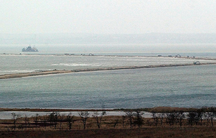 A view of the Kerch Strait (archive)