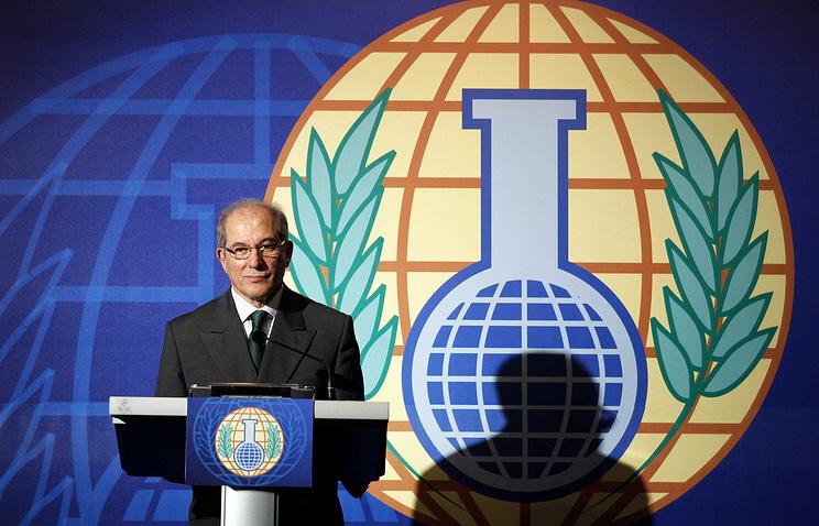 OPCW Director-General, Ahmet Uzumcu