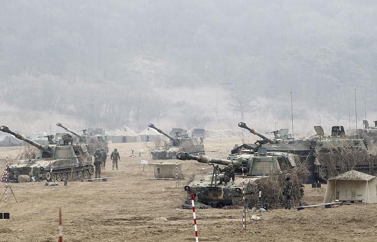 "Military exercises ""Foal Eagle"""