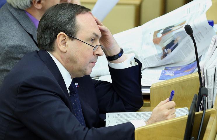 State Duma member Vyacheslav Nikonov