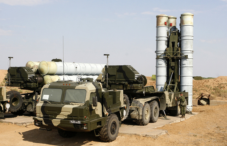 Air defense system S-400 (archive)