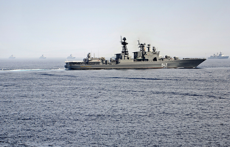 Russian anti-submarine destroyer Marshal Shaposhnikov (archive)