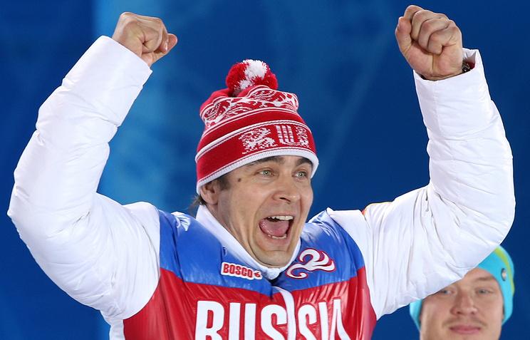 Russian luger Albert Demchenko