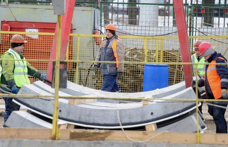 Metro construction site (archive)