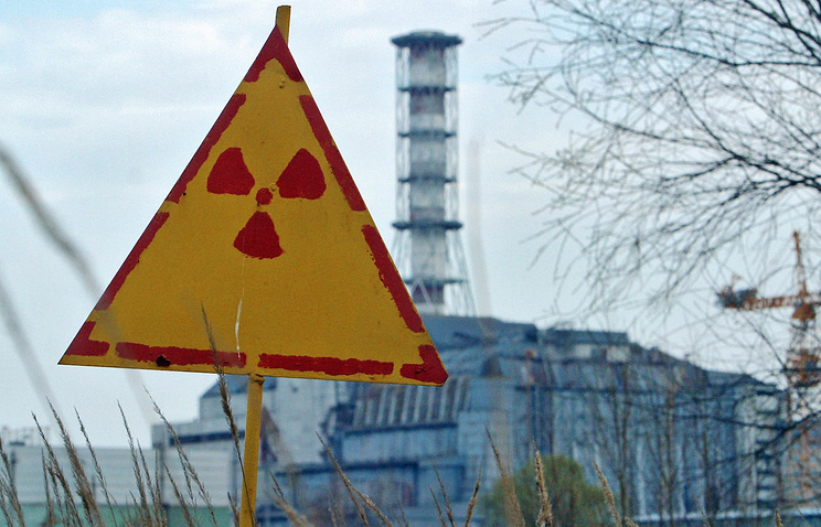 An explosion at the Chernobyl NPP (photo) caused radioactive contamination of Belarus territory in the 1980's