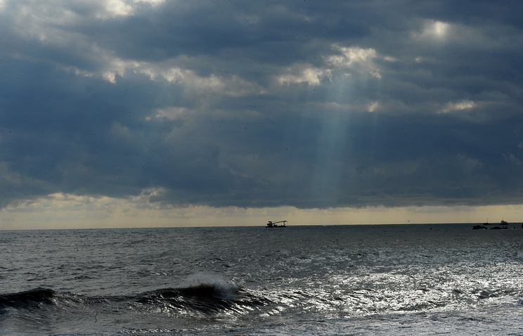 A view of the Black sea