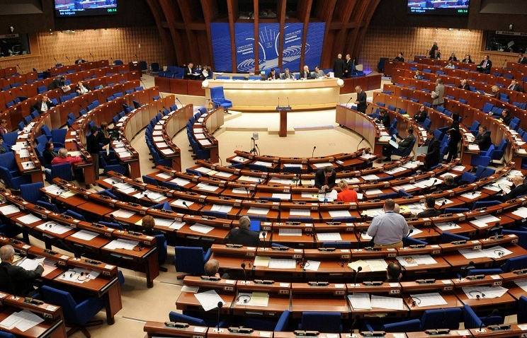 General view of the Parliamentary Assembly of the Council of Europe (archive)