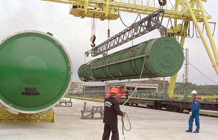 Ballistic missile utilization center in Russia (archive)