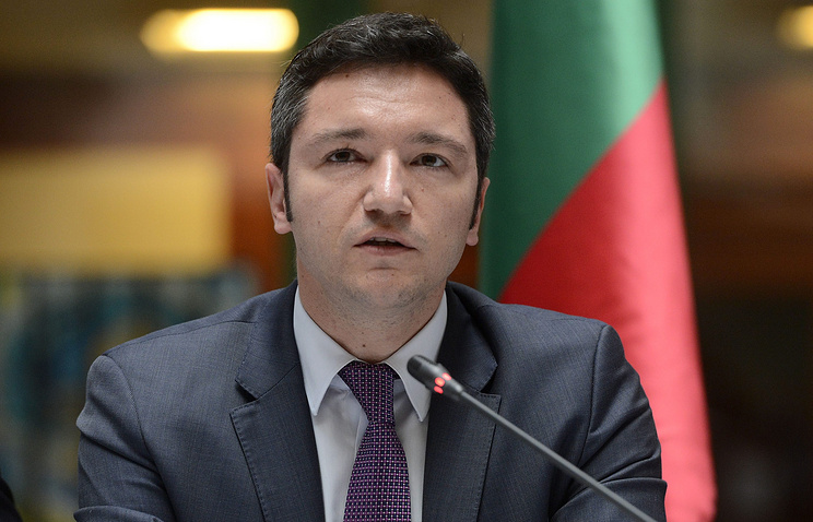 Bulgarian Foreign Minister Kristian Vigenin