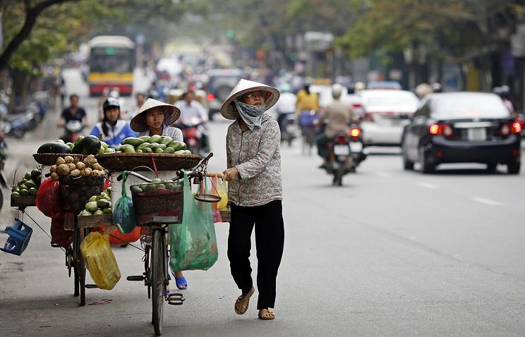 A view of Hanoi