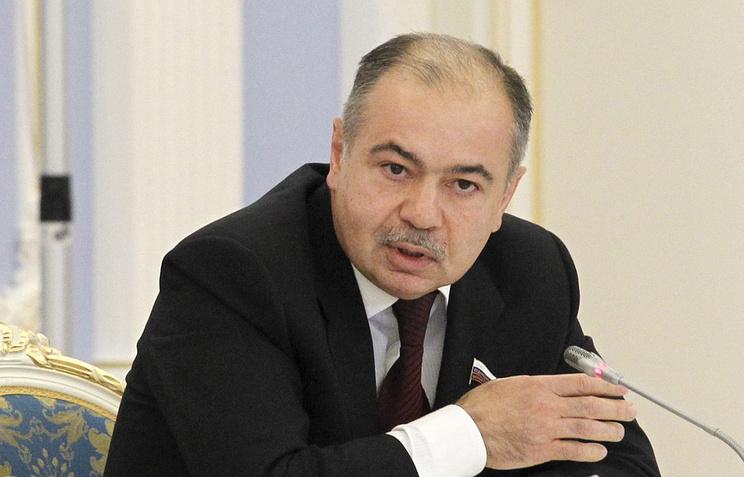 Federation Council Deputy Speaker Ilyas Ukhmanov