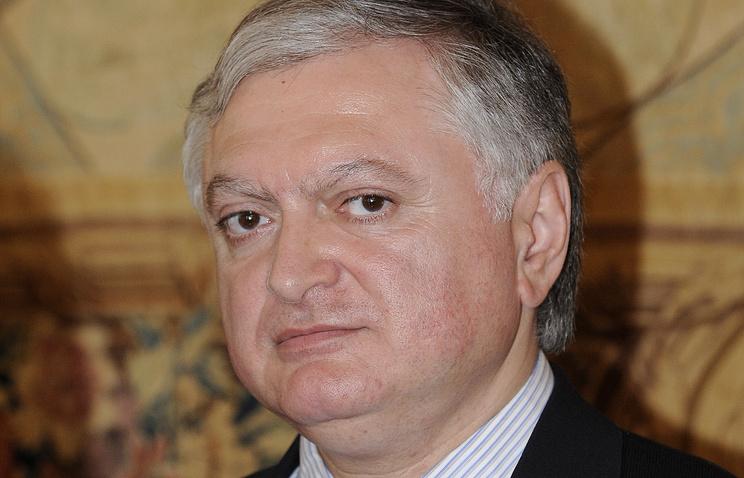 Armenian Foreign Affairs Minister Edward Nalbandian