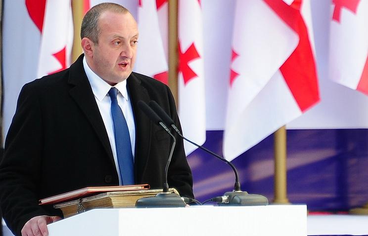 Georgian President Georgy Margvelashvili