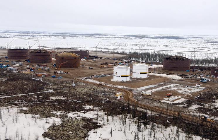 Siberia's Vankor oil fields