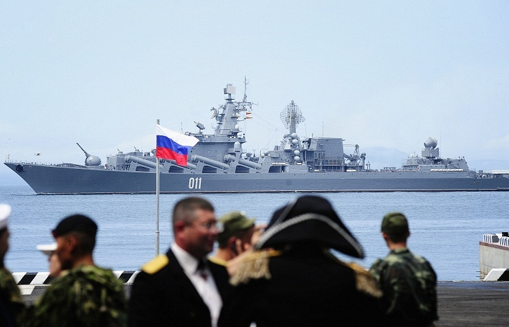 Russia's missile cruiser Varyag