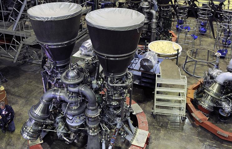 Energomash rocket engine (archive)