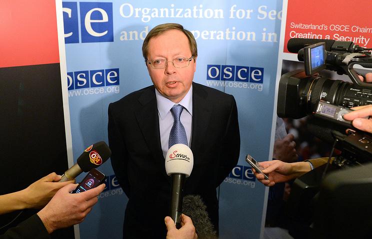 Russia's OSCE envoy Andrei Kelin