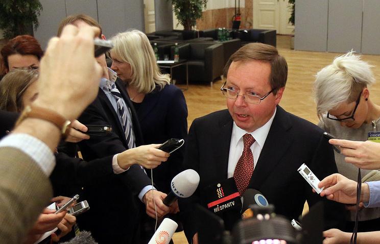 Russia's permanent representative to the OSCE Andrei Kelin