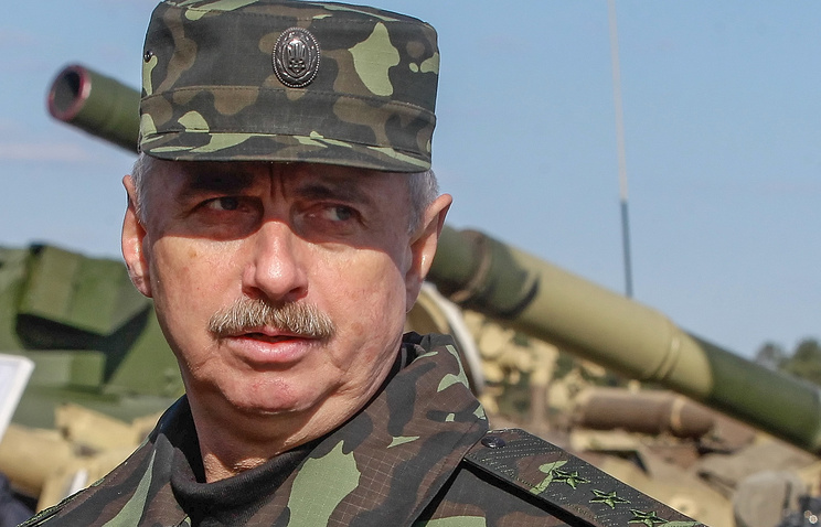 Parliament-appointed acting Defense Minister of Ukraine Mykhailo Koval