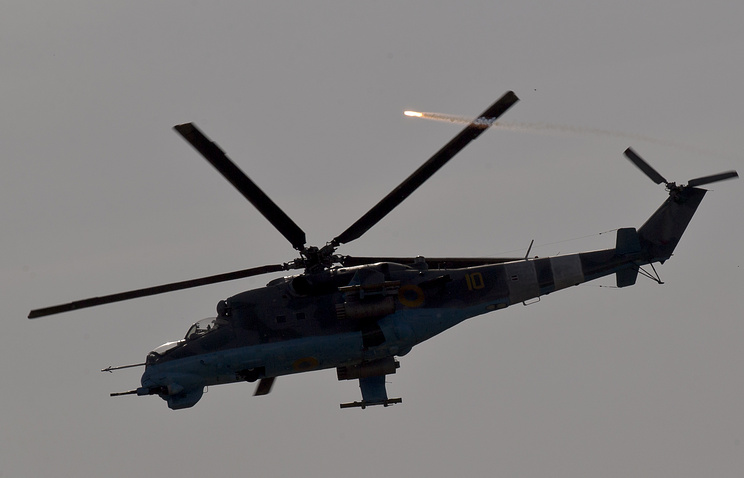 Ukrainian helicopter gunship (archive)