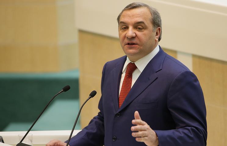 Russian Emergencies Minister Vladimir Puchkov