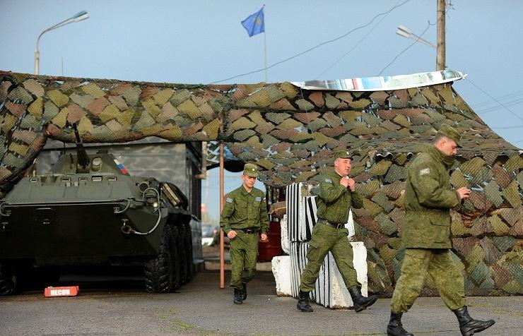 Peacekeepers in Transdniestria (archive)