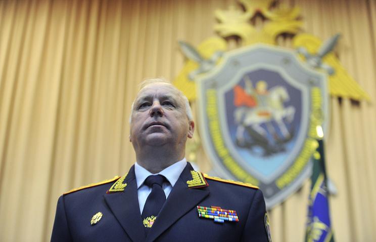 Head of Russia's Investigative Committee Alexander Bastrykin