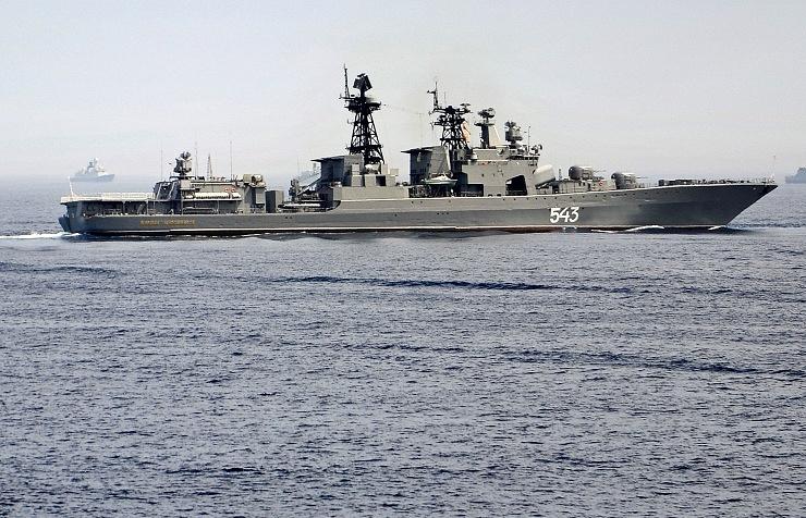 Big anti-submarine ship Marshal Shaposhnikov