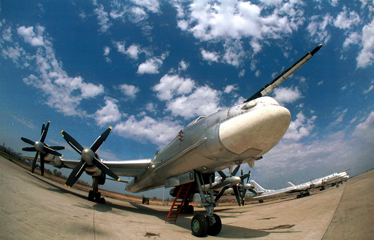 Tu-95MS strategic bomber