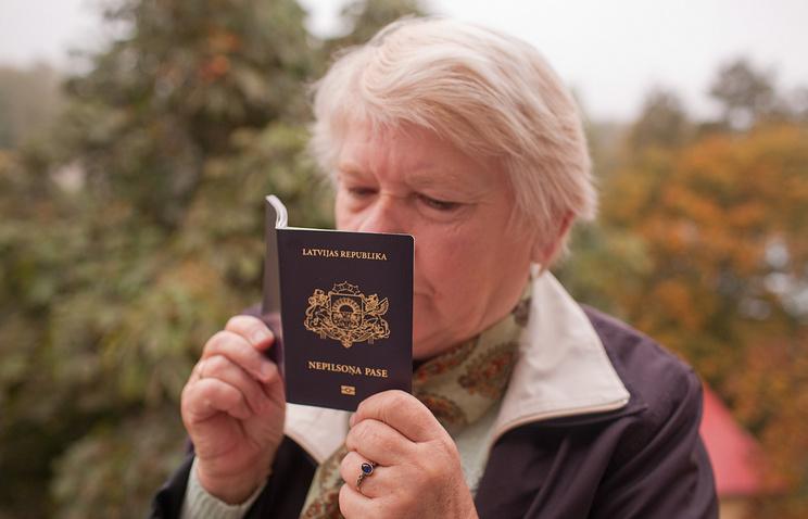 Latvian non-citizen's passport