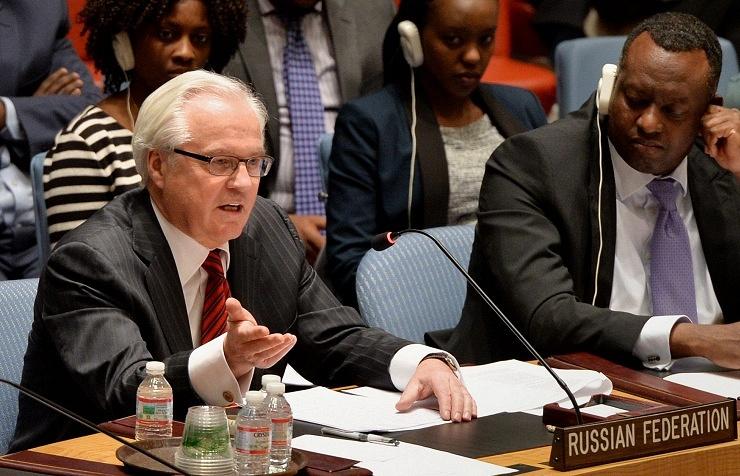 RF UN ambassador Vitaly Churkin