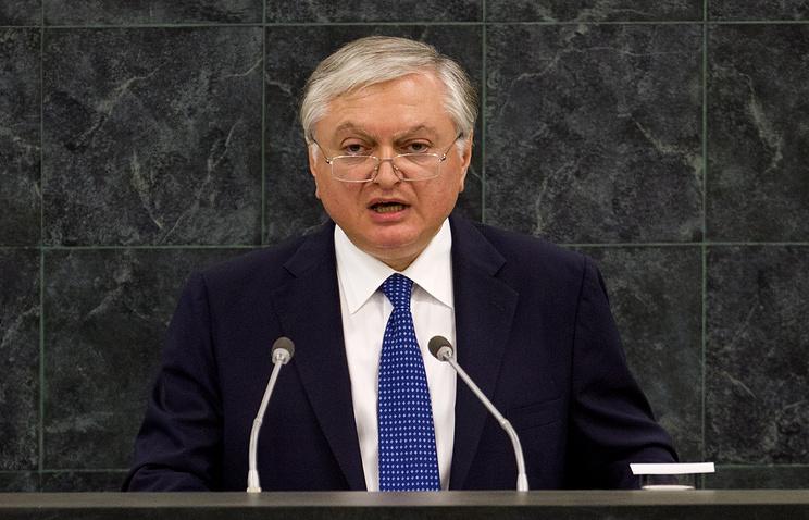 Armenian Foreign Minister Edward Nalbandyan