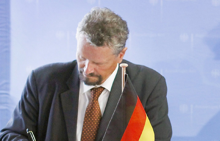 Coordinator for German-Russian Intersocietal Cooperation Gernot Erler