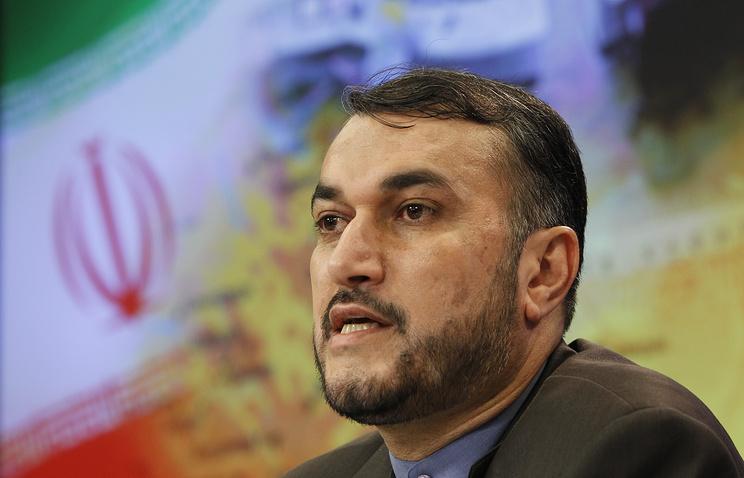 Iranian Deputy Foreign Minister Hossein Amir Abdollahian