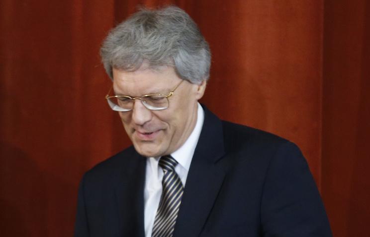 Russian Ambassador to Italy Sergey Razov