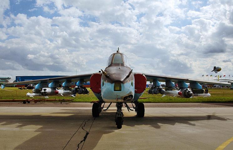 Su-25 attack aircraft (archive)
