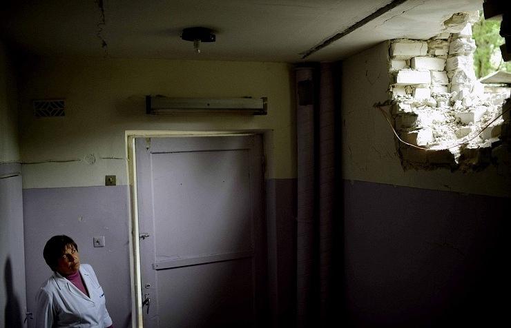 Destructions in Sloviansk (archive)