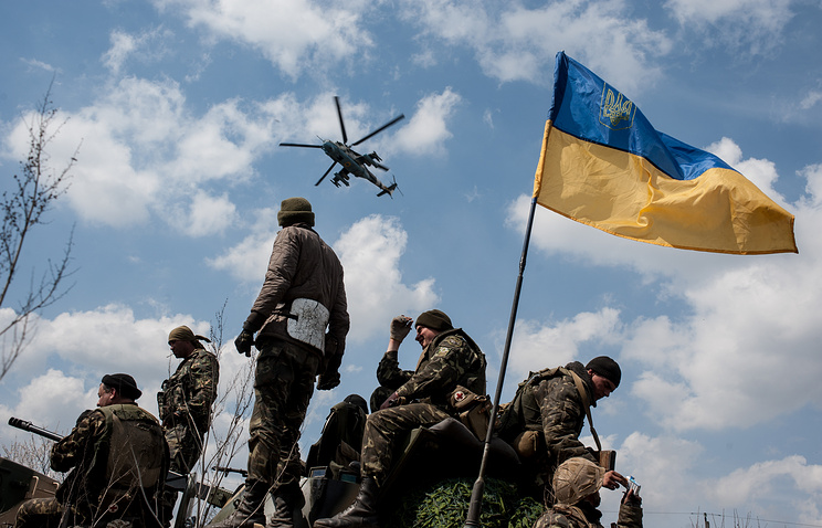 Ukrainian soldiers (archive)