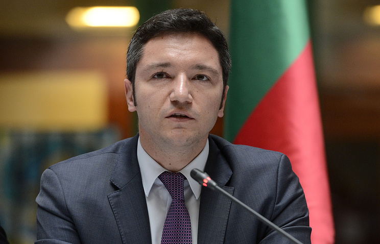 Bulgaria's Foreign Minister Kristian Vigenin