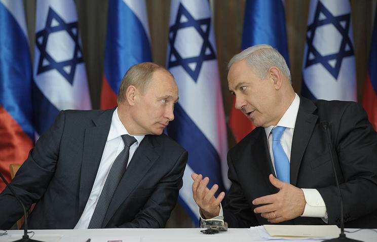 Vladimir Putin and Benjamin Netanyahu (archive)