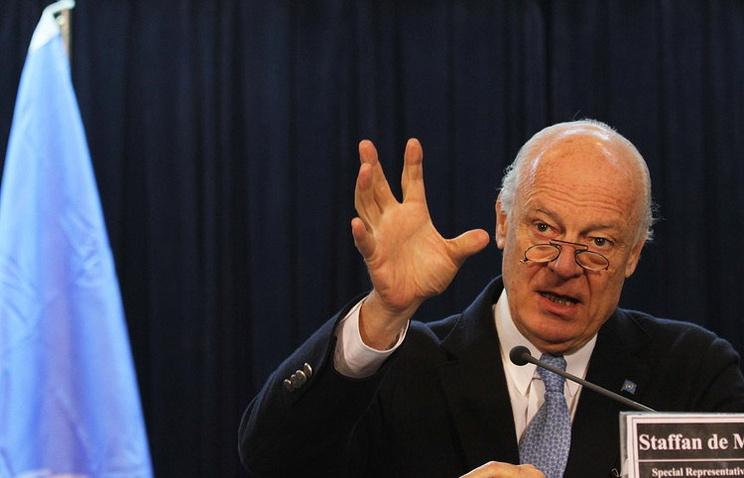 UN Special Envoy for Syria, Staffan de Mistura